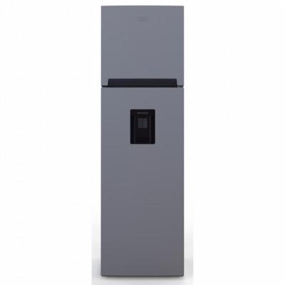 Defy DAD246 178L Satin Metallic D230 Eco Top Freezer Fridge with Water Dispenser