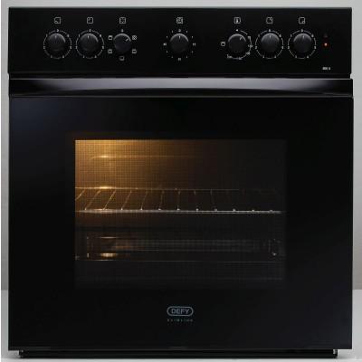 Defy DBO458 600mm Black Slimline Undercounter Oven