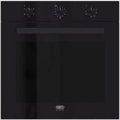 Defy DBO483 600mm Black Multifunction Slimline Eye Level Oven