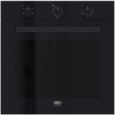 Defy DBO483 600mm Black Multifunction Slimline Eye Level Oven