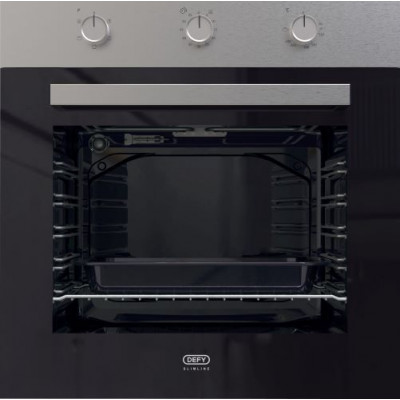 Defy DBO484 600mm Stainless Steel Multifunction Slimline Oven