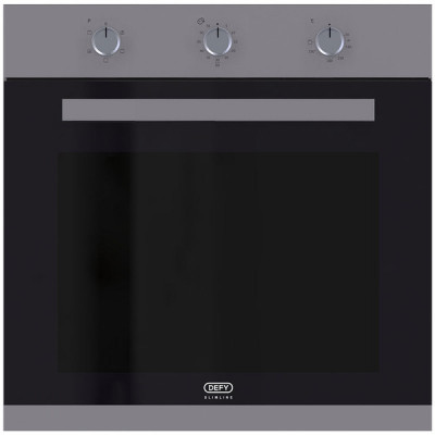 Defy DBO486 600mm Stainless Steel Multifunction Slimline Eye Level Oven