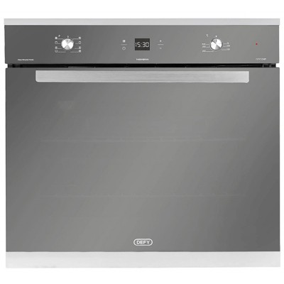 Defy DBO475 730mm Mirror Glass Gemini Petit Chef Multifunction Oven