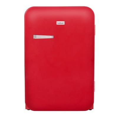 SnoMaster DBQ220E 115L Red Retro Freezer