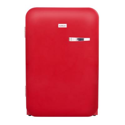 SnoMaster DBQ220R 115L Red Retro Fridge