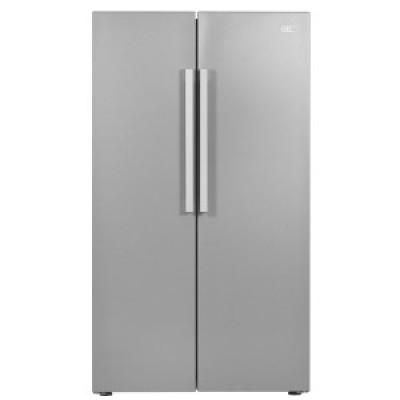 Defy DFF436 599L Satin Metallic F740 Eco M Side-by-Side Refrigerator