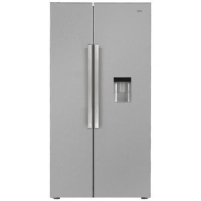 Defy DFF437 555L Satin Metallic F740 Eco WD M Side-by-Side Refrigerator