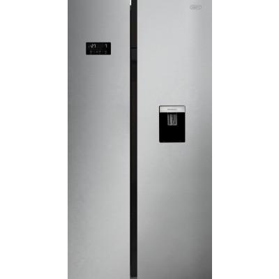 Defy DFF439 555L Satin Metallic F740 Eco E WD M Side-by-Side Refrigerator