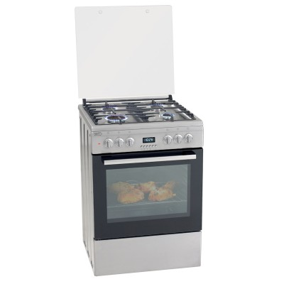 Defy 600mm 4 Burner Free Standing Gas Oven
