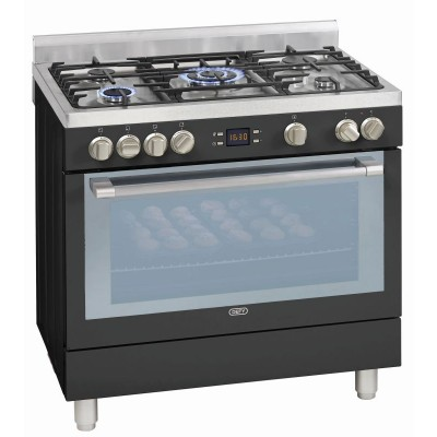 Defy 900mm Anthracite Free Standing Oven