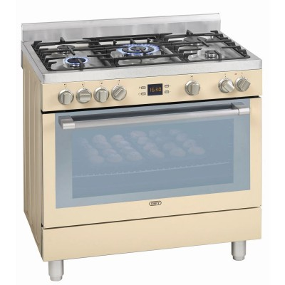 Defy 900mm Cream Free Standing Gas Oven