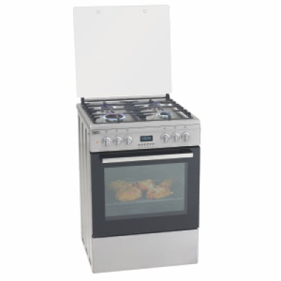 Defy DGS183 600mm Stainless Steel 4 Burner 600 Series Gas Electric Stove