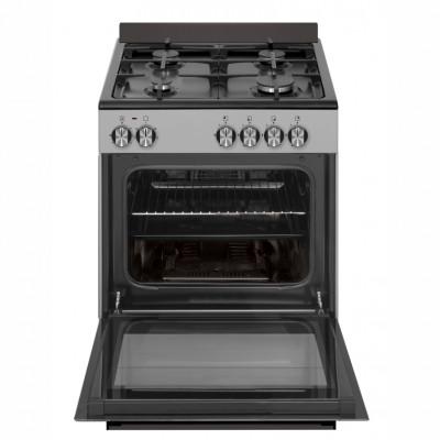 Defy DGS602 600mm Inox 4 Burner Gas/Electric Freestanding Oven