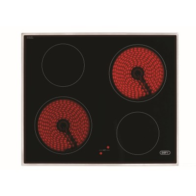 Defy 600mm 4 Cooking Zones Ceran Hob