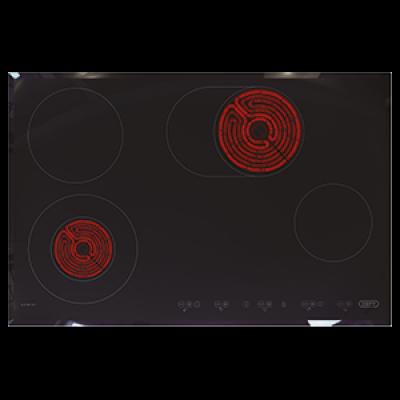 Defy DHD412 770mm Gemini Touch Control Vitroceramic Hob