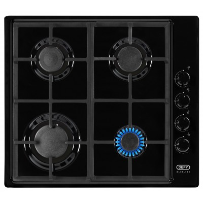 Defy 600mm 4 Gas Burner Hob