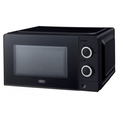 Defy DMO382 20L Black Manual Microwave