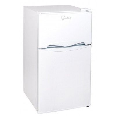 Midea 87L Net A+ Dbl/Door Bar Fridge White