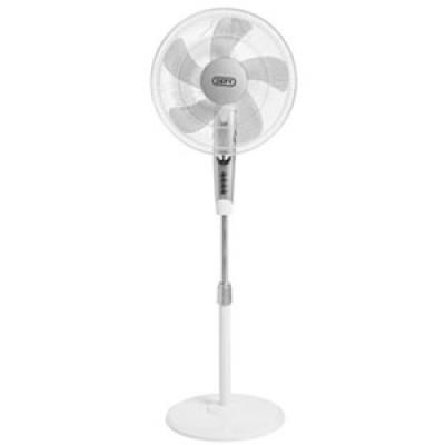 Defy DSF1626W 50W White Stand Fan