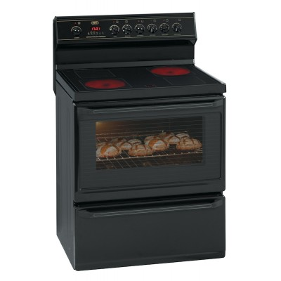 Defy DSS430 800mm Black 4 Plate 800 Series Multifunction Vitroceramic Stove