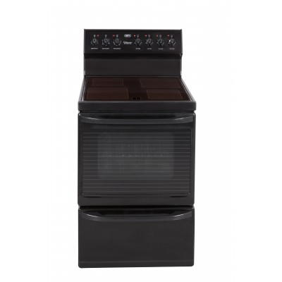 Defy 635 Multifunction Black 600mm Freestanding Oven