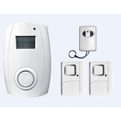 DigiTech Wireless Motion Sensor Alarm With Remote Control & Window / Door Magnetic Contact