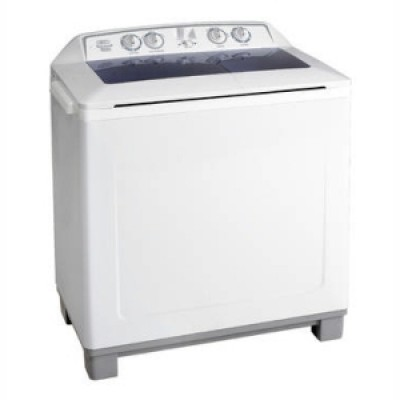 Defy DTT 165 Twin Tub Washing Machine Metallic
