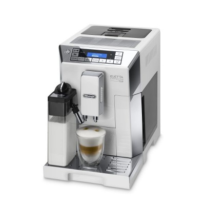 Delonghi Fully Automatic Coffee Machine White/Silver