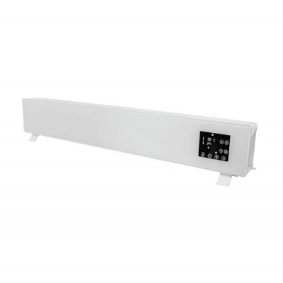 Alva EIH300 White Electric Freestanding Glass Face Heater