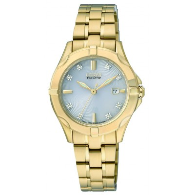 Citizen Ladies Diamond Collection EW1932-54A Watch