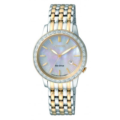 Citizen Ladies Diamond Collection EW2284-57D Watch
