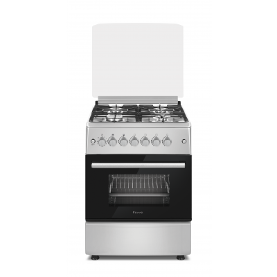 Ferre F6B40G2.SI 60cm 4 Burner Freestanding Gas Oven