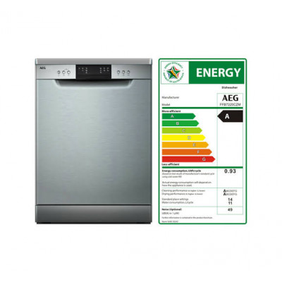 AEG FFB7220CZM 14 Place 7 Programme Dishwasher