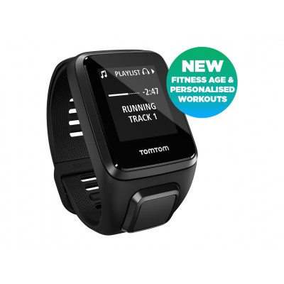 TomTom Spark 3 Cardio/Music/Headphones Black