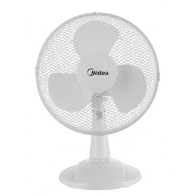 """Midea 12"""" Table Fan - White"""