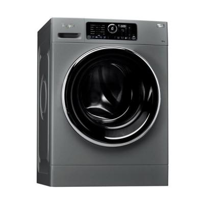Whirlpool FWG81284SBS EG 9KG Silver Front Loader Washing Machine