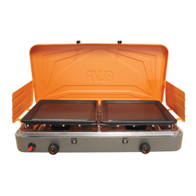 Alva GCS09 2 Burner Gas Stove With Solid Plates
