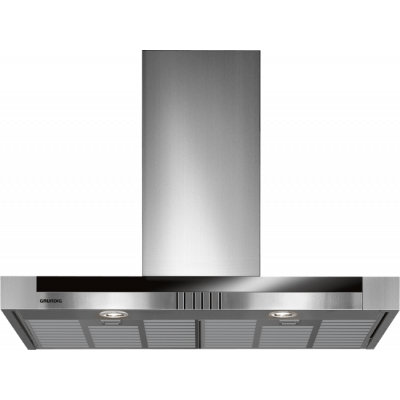 Grundig GDK 5774 BXB 900mm Stainless Steel Wall Mounted Extractor