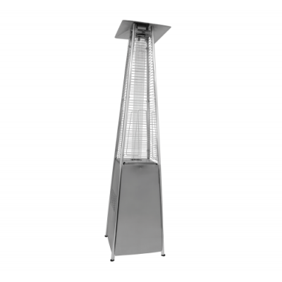 Alva GHP20 Silver Designer Quartz Glass Patio Heater