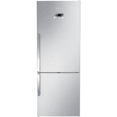 Grundig GKN 17930 454L Stainless Steel Combi Fridge Freezer