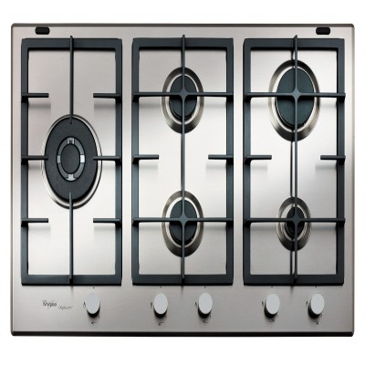 Whirlpool 900mm Stainless Steel Gas Hob
