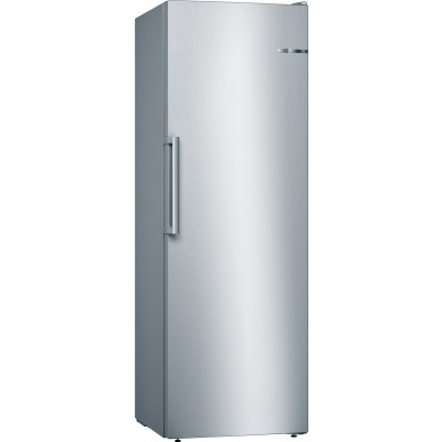 Bosch Serie 4, GSN33VI31Z 220L No frost, Single Door Full Freezer Inox