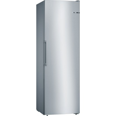 Bosch Serie 4 GSN36VI31Z 237L Single Door Full Freezer S/steel Look