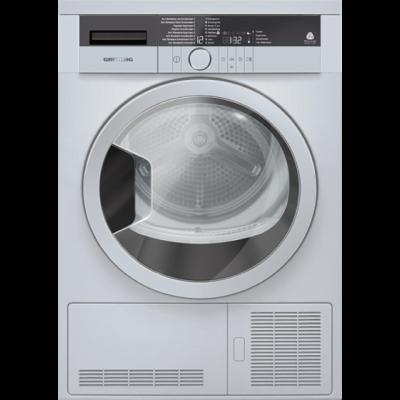 Grundig GTN 38111 SGC 8KG Silver Condenser Tumble Dryer