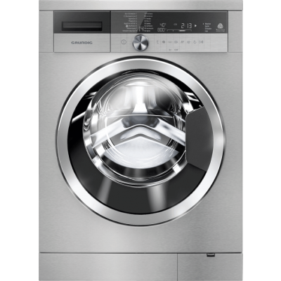 Grundig GWN 410440 SC 10KG Silver Front Loader Washing Machine