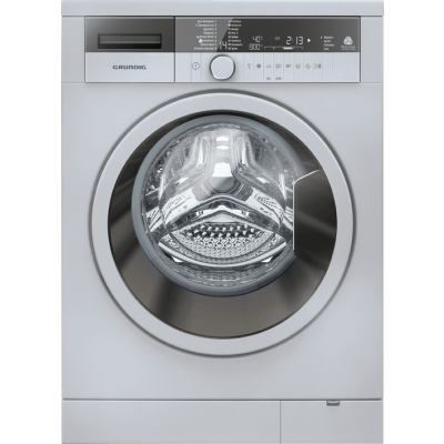Grundig GWN 48430 SC 8KG Silver Front Loader Washing Machine