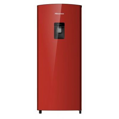 Hisense 176L Red Bar Fridge With Water Dispenser