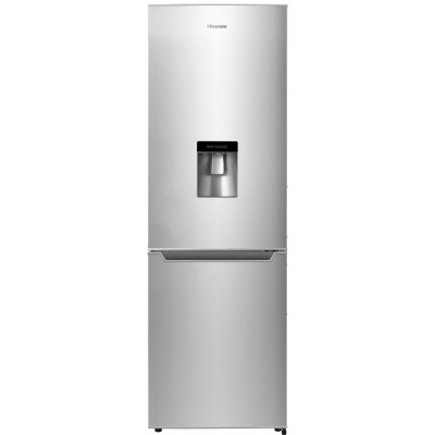Hisense 288L Metallic Combi Fridge With Water Dispenser