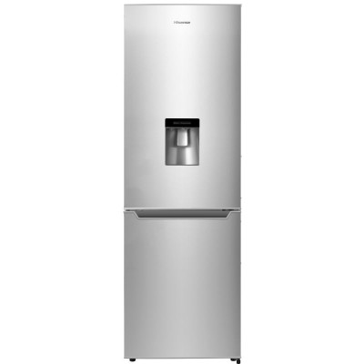 Hisense 269L Metallic Combi Fridge With Water Dispenser