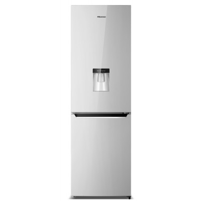 Hisense 323L Metallic Combi Fridge With Water Dispenser